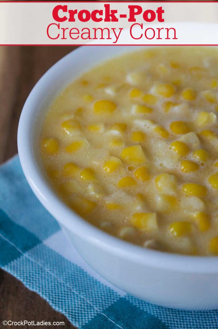 Crock-Pot Creamy Corn