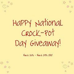 Crock-Pot Day Giveaway