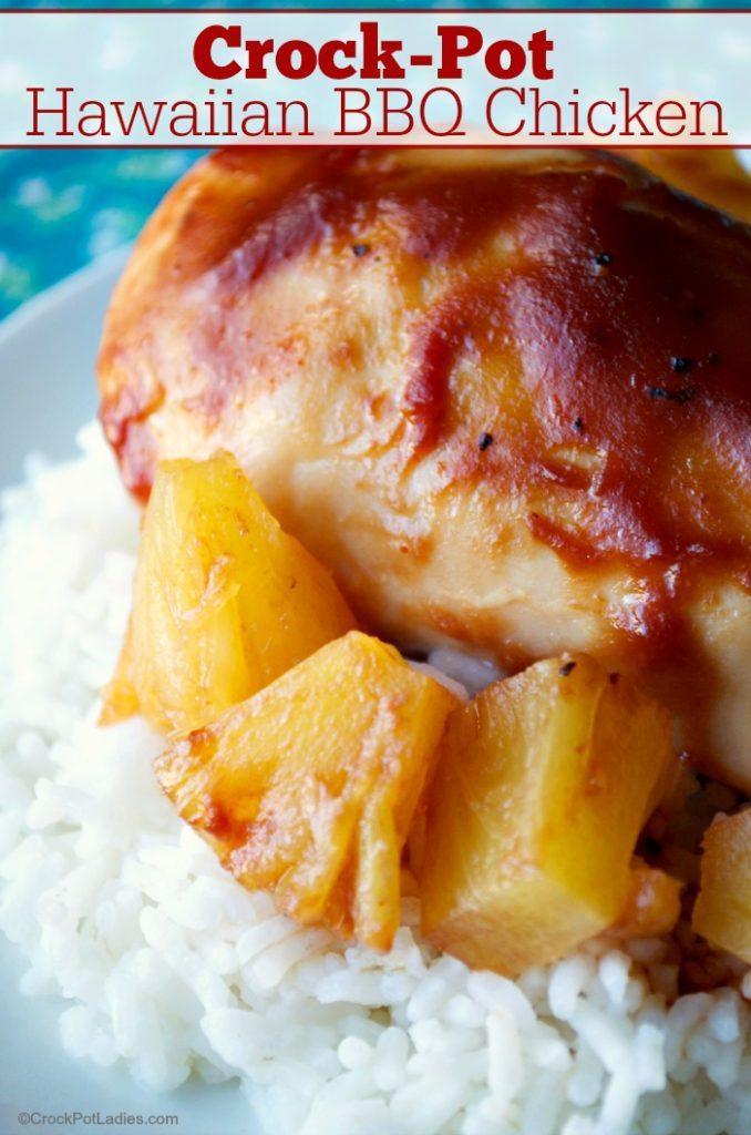 Crock-Pot Hawaiian BBQ Chicken