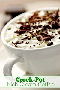 Crock-Pot Irish Cream Coffee