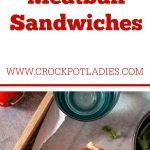 Crock-Pot Meatball Sandwiches