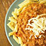 Crock-Pot Pizza Noodle Toss