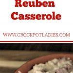 Crock-Pot Reuben Casserole