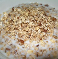 crock-pot maple pecan oatmeal