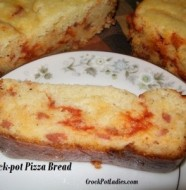 crock-pot pizza bread