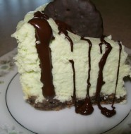 crock-pot thin mint cheesecake