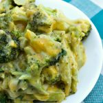 Crock-Pot Broccoli Cheese Casserole