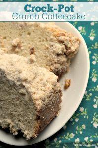 Crock-Pot Crumb Coffeecake