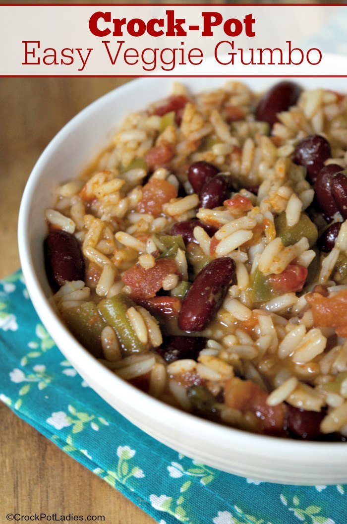 Crock-Pot Easy Veggie Gumbo