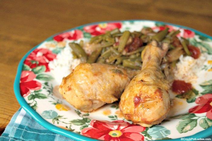 Crock-Pot Smothered Chicken Drumsticks