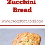 Crock-Pot Zucchini Bread