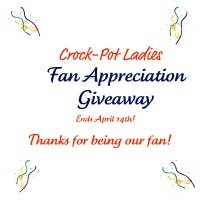 Crock-Pot Ladies Fan Appreciation Giveaway