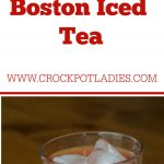 Crock-Pot Boston Iced Tea