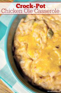 Crock-Pot Chicken Ole Casserole