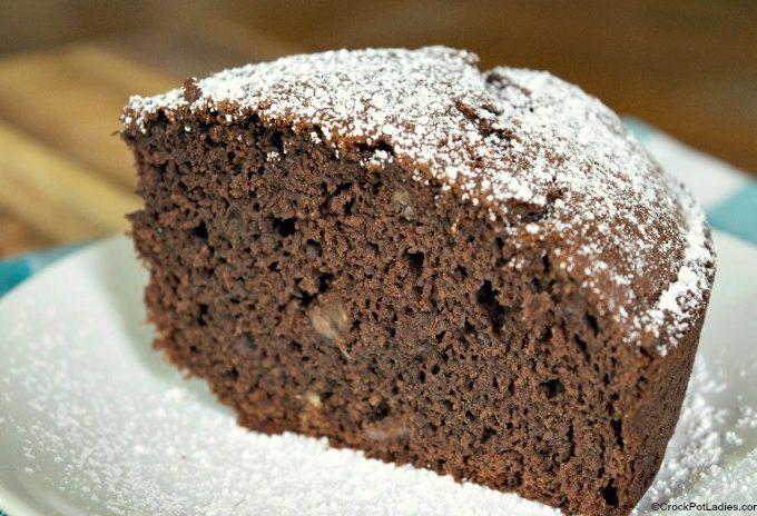 Crock-Pot Chocolate Banana Cake