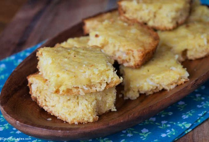Crock-Pot Coconut Cornbread