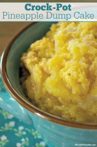 Crock-Pot Pineapple Dump Cake