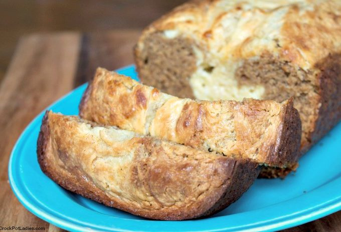Crock-Pot Pumpkin Cheesecake Bread