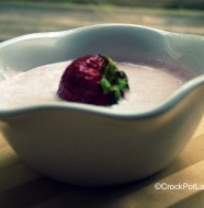 Crock-Pot Strawberry Soup