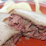 Crock-Pot Warm Pastrami Sandwiches