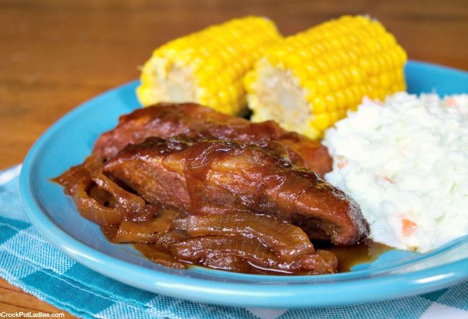 Crock-Pot BBQ Country Style Ribs