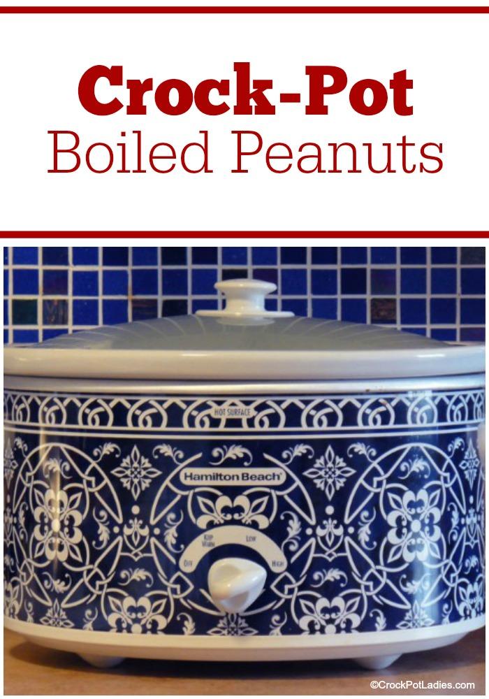 Crock-Pot Boiled Peanuts