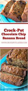 Crock-Pot Chocolate Chip Banana Bread
