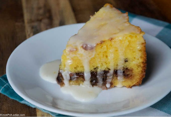 Crock-Pot Honey Bun Cake