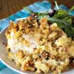 Crock-Pot Swiss Chicken Casserole