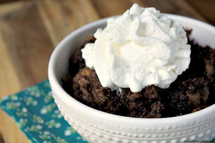 Crock-Pot Chocolate Bread Pudding