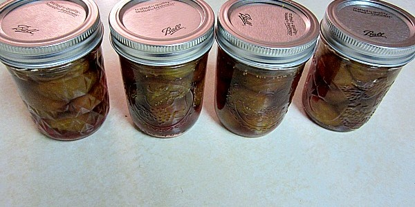 Crock-Pot Fig Preserves