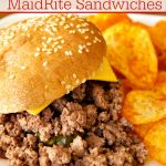 Crock-Pot Homemade MaidRite Sandwiches