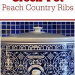 Crock-Pot Peach Country Ribs