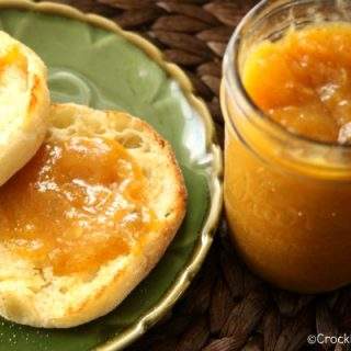 Crock-Pot Peach Vanilla Butter