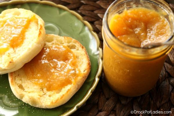 Crock-Pot Peach Vanilla Butter