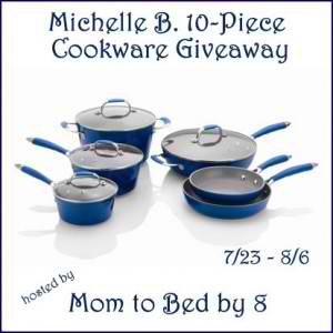 Michelle B. 10 Piece Cookware Set Giveaway ~ Ends 8/6/2012