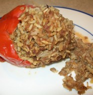crock-pot stuffed greenpeppers