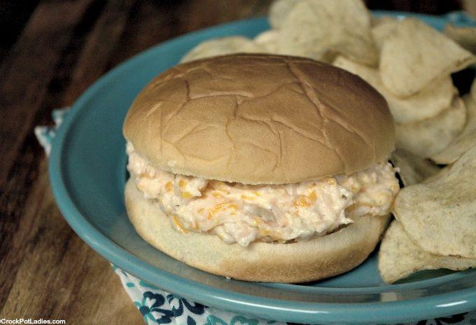 Crock-Pot Hot Chicken Sandwiches