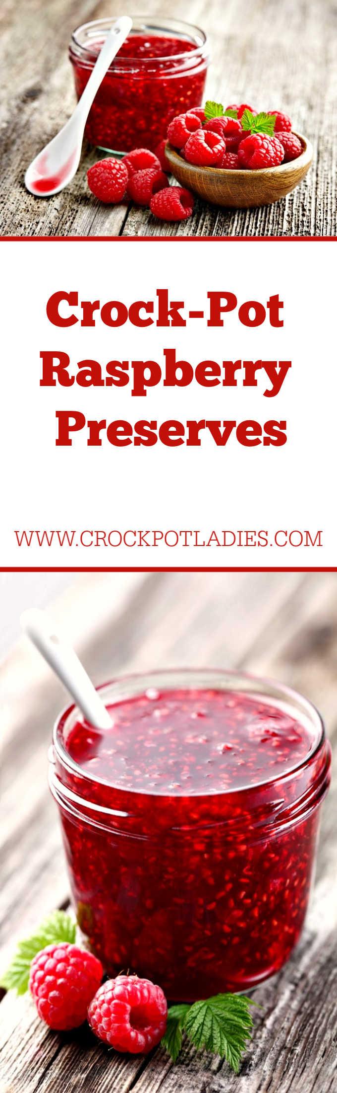 Crock-Pot Raspberry Preserves