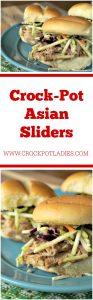 Crock-Pot Asian Sliders