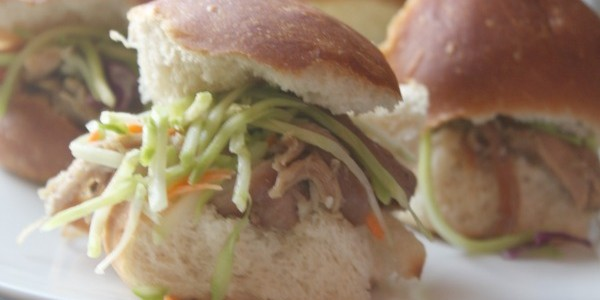 Crock-Pot Asian Sliders