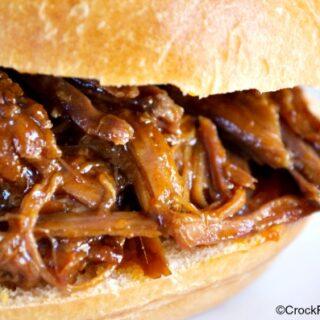 Crock-Pot Beef Sandwiches