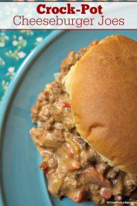 Crock-Pot Cheeseburger Joes