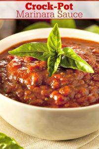 Crock-Pot Marinara Sauce