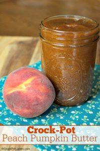 Crock-Pot Peach Pumpkin Butter