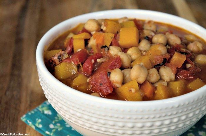 Crock-Pot Vegetarian Moroccan Tagine