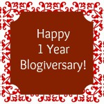 It's Our 1-Year Blogiversary! (Giveaway Inside!)