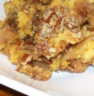 crock-pot apple pecan dump cake