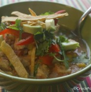 Crock-Pot Chicken Tortilla Soup
