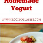 Crock-Pot Homemade Yogurt